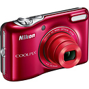 Nikon Coolpix L32 Digital Camera (Red)