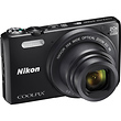 COOLPIX S7000 Digital Camera (Black)