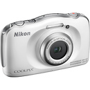 Nikon Coolpix S33 Digital Camera White
