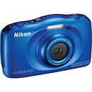 Nikon Coolpix S33 Digital Camera Blue