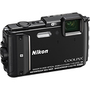 Nikon COOLPIX AW130 Waterproof Digital Camera Black