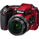 Nikon Coolpix L840 Digital Camera Red