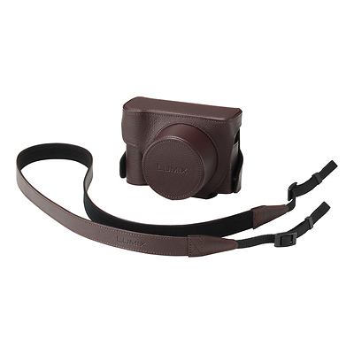 DMW-CLX100 Jacket Case for DMC-LX100 Digital Camera (Brown) Image 0