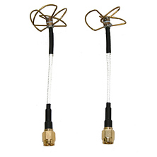 Clover Leaf Antenna Kit (Straight, Pair) Image 0
