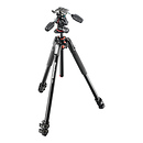 Manfrotto MK190XPRO3-3W Aluminum Tripod with 3-Way Pan/Tilt Head