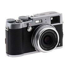 X100T Digital Camera - Silver - (Open Box) Image 0