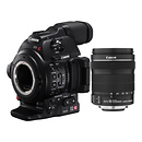 Canon | EOS C100 Mark II Cinema EOS Camera with EF-S 18-135mm IS STM Lens | 0297C002