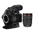 EOS C100 Mark II Cinema EOS Camera with EF 24-105mm f/4L Lens