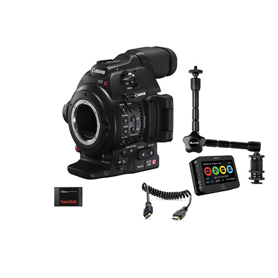 EOS C100 Mark II Cinema EOS Camera and Atomos Ninja 2 Kit Image 0