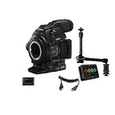 Canon | EOS C100 Mark II Cinema EOS Camera and Atomos Ninja 2 Kit | 0202C013