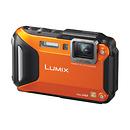 Panasonic | Lumix DMC-TS6 Digital Camera (Orange) | DMCTS6D