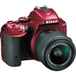 D5500 DSLR Camera with 18-55mm Lens (Red)
