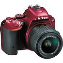 Nikon | D5500 DSLR Camera with 18-55mm Lens (Red) | 1547