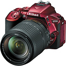D5500 Digital SLR Camera with 18-140mm Lens (Red)