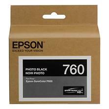 T760 Photo Black Ultrachrome HD Ink Cartridge Image 0