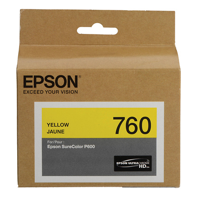 T760 Yellow Ultrachrome HD Ink Cartridge Image 0