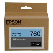 T760 Light Cyan Ultrachrome HD Ink Cartridge Image 0
