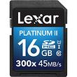 16GB Platinum II UHS-I SDHC Memory Card (Class 10)