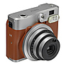 Instax Mini 90 Neo Classic Instant Camera (Brown)