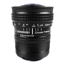 5.8mm f/3.5 Circular Fisheye Lens for Micro Four Thirds Image 0