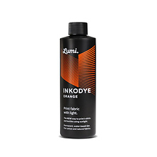 Inkodye Bottle 8oz Light Sensitive Dye (Orange) Image 0