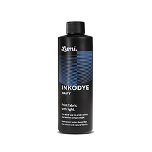 Inkodye Bottle 8oz Light Sensitive Dye (Navy) Image 0