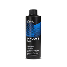 Inkodye Bottle 8oz Light Sensitive Dye (Blue) Image 0
