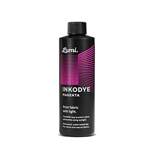 Inkodye Bottle 8oz Light Sensitive Dye (Magenta) Image 0