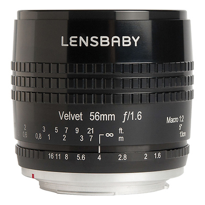 Velvet 56mm f/1.6 Lens for Micro Four Thirds (Black) Image 0