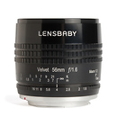 Lensbaby | Velvet 56mm f/1.6 Lens for Nikon F (Black) | LBV56BN