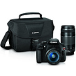 EOS Rebel T5 Digital SLR Camera with 18-55mm and 75-300mm Lenses Kit