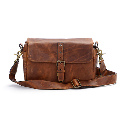 The Bowery Leather Camera Bag (Antique Cognac) Image 0