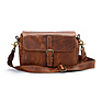 The Bowery Leather Camera Bag (Antique Cognac)