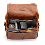The Bowery Leather Camera Bag (Antique Cognac) Thumbnail 4
