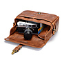 The Bowery Leather Camera Bag (Antique Cognac) Thumbnail 5