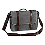 The Brixton Camera/Laptop Messenger Bag (Smoke)