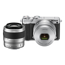 Nikon | 1 J5 Mirrorless Digital Camera with 10-30mm and 30-110mm Lenses (Silver) | 27713
