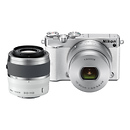 Nikon | 1 J5 Mirrorless Digital Camera with 10-30mm and 30-110mm Lenses (White) | 27712