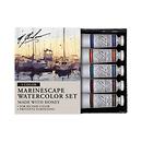 M Graham & Co. | Marinescape 0.5 oz Artists Watercolor 5 Color Set | GRM-33-MARINE