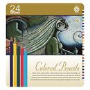 Pentalic Art | Colored Pencil Tin 24 Color Set | PTL897324