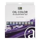 Art Advantage | 18 Color Oil Paint Set (12 ml) | ART3186