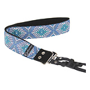 Capturing Couture | Designer Collection 1.5 In. Camera Strap (Moroccan Sea) | SLR15-MSEA