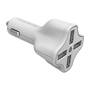 Digipower Solutions 4 Port USB Car Charger with InstaSense Technology