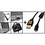 Starter Tethering Kit with Black USB 2.0 Micro-B 5 Pin Cable 15'