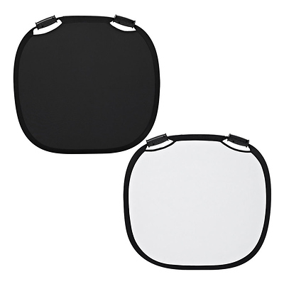 33 In. Collapsible Reflector (Black/White) Image 0