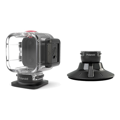 Waterproof Case and Suction Mount Image 0