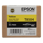 T850 UltraChrome HD Yellow Ink Cartridge (80 ml)