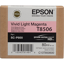 T850 UltraChrome HD Vivid Light Magenta Ink Cartridge (80 ml) Image 0