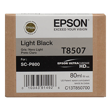 T850 UltraChrome HD Light Black Ink Cartridge (80 ml) Image 0