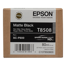 T850 UltraChrome HD Matte Black Ink Cartridge (80 ml) Image 0